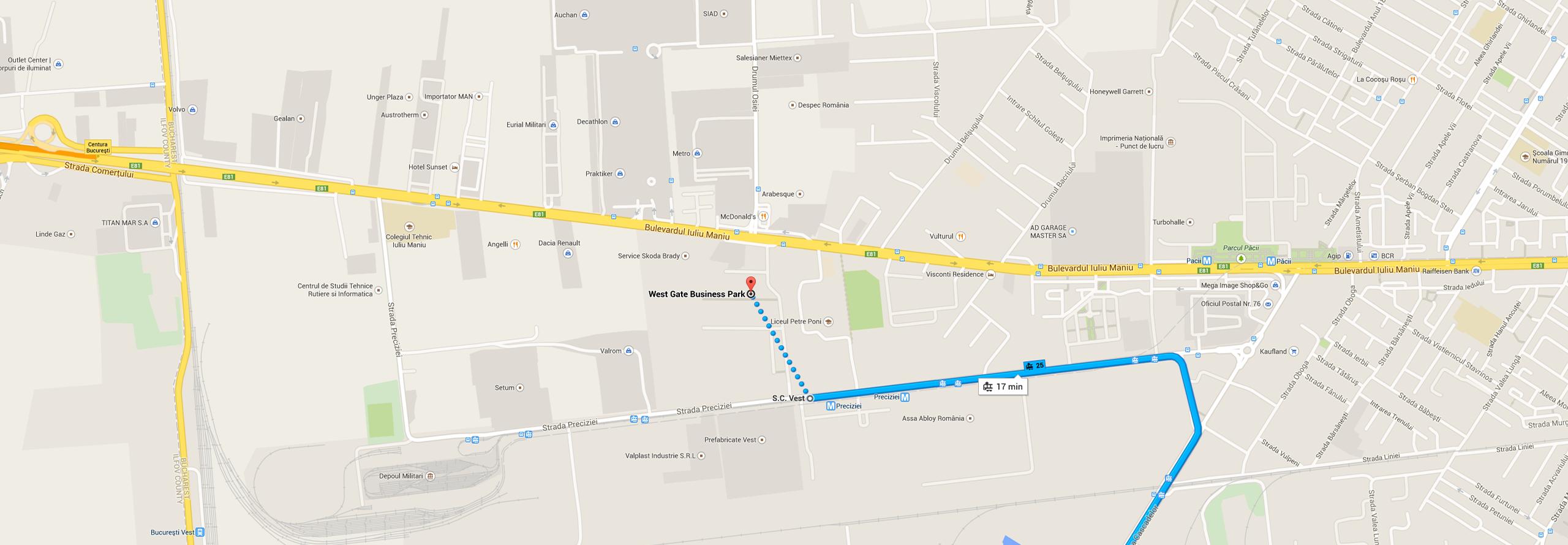 Westgate - Tramvai