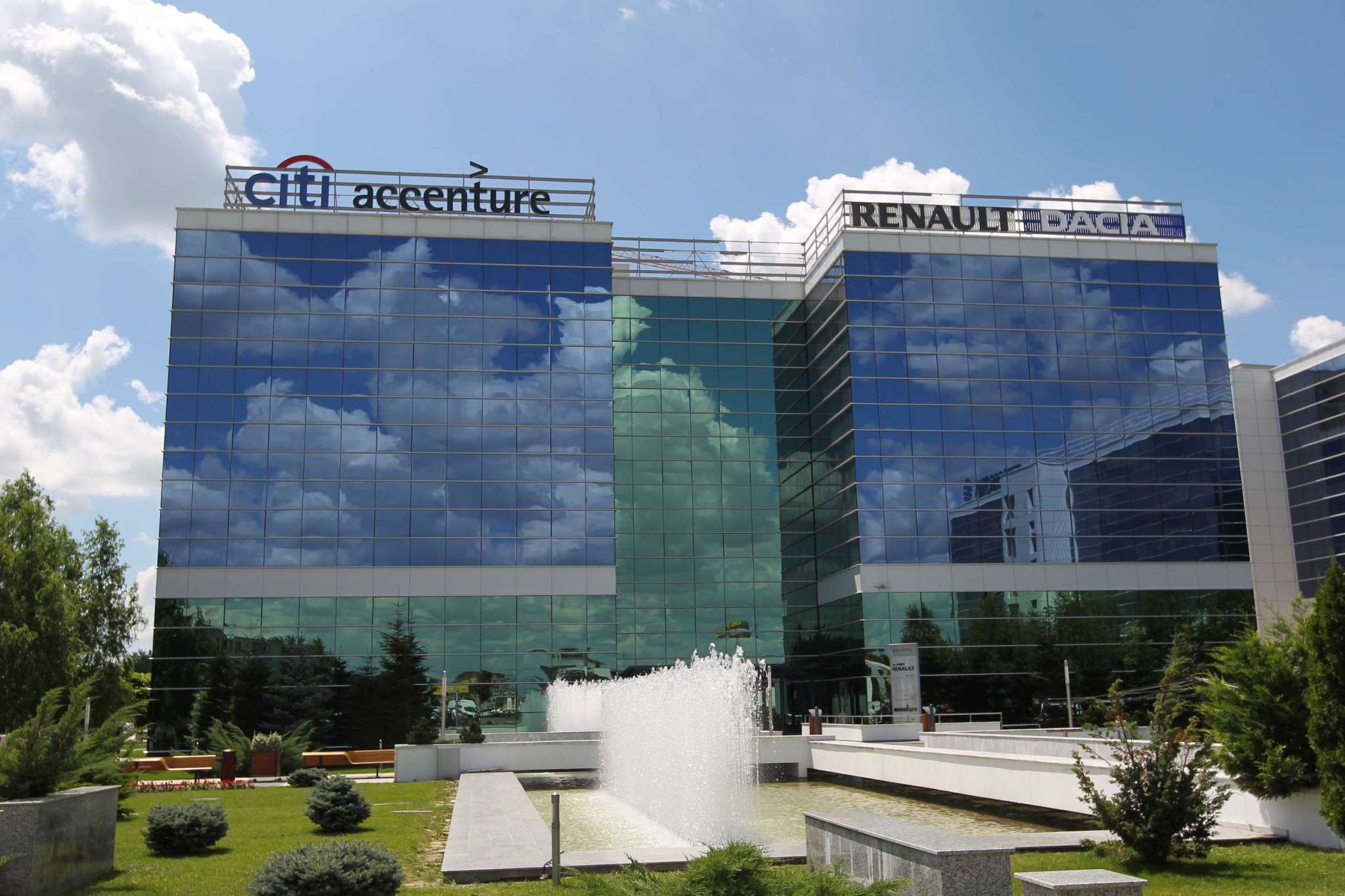 Sediu Accenture West Gate Business District