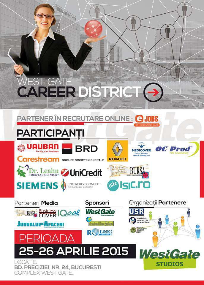Targ de joburi WestGate Career District