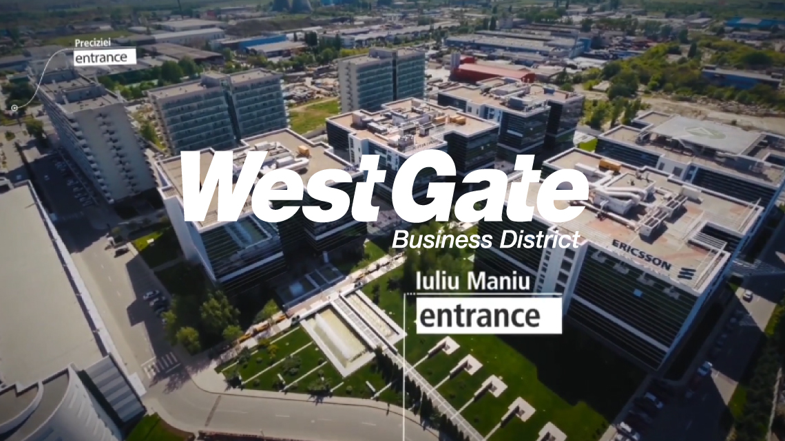 Video - West Gate Business District, dezvoltat de Genesis Development